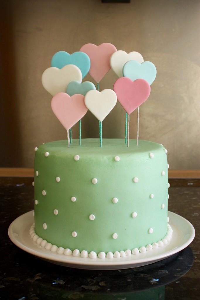 Babyshower reveal cake - is het een jongen of een meisje?